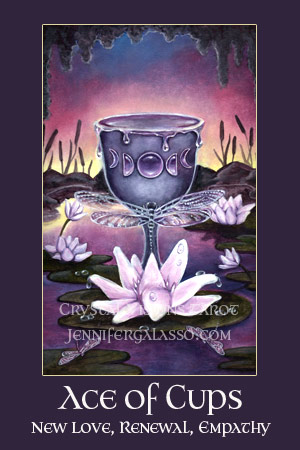Crystal Visions Tarot Suit of Cups